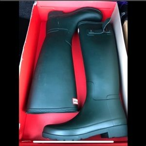 NWT Olive Green Original Refined Hunter Rainboots